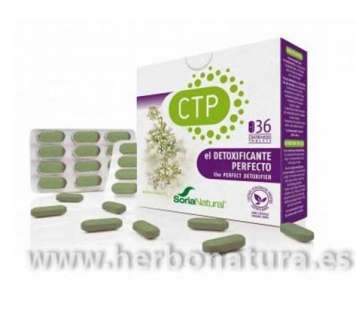 CTP Lepidium detoxificante 36 cápsulas SORIA NATURAL