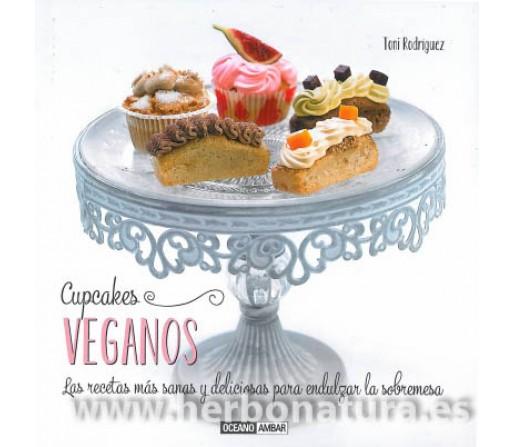 Cupcakes Veganos Libro, Toni Rodriguez OCEANO AMBAR