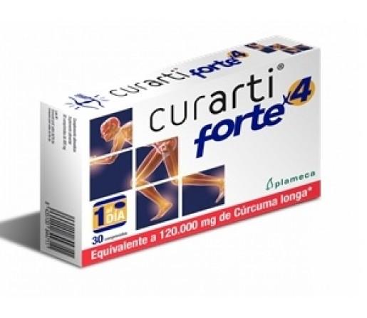 Curarti Forte x 4 Equivalente a 120000mg. de Cúrcuma longa 30 comprimidos PLAMECA