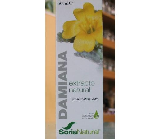 Damiana Extracto Natural (Turnera diffusa Wild) 50ml. SORIA NATURAL