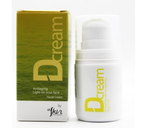 Crema Facial Dcream Ecológica de Dunaliella salina 50ml. ALSKIN
