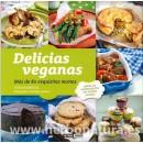 Delicias Veganas, más de 80 exquisitas recetas Libro, Toni Rodríguez OCEANO AMBAR en Herbonatura.es