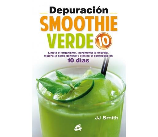 Depuración Smoothie Verde 10 días, JJ Smith Libro GAIA EDICIONES