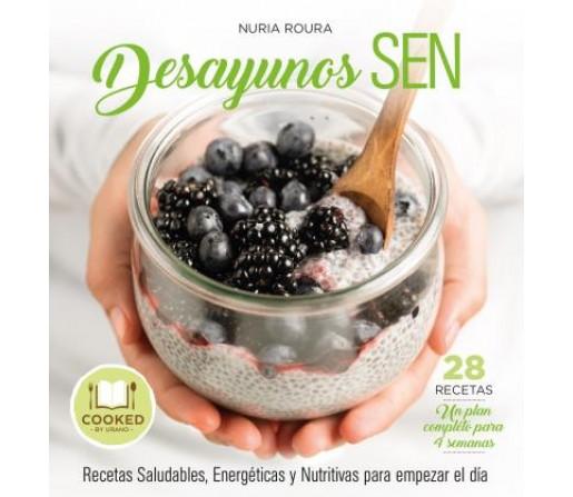 Desayunos SEN, Recetas saludables, energéticas... Libro Nuria Roura EDITORIAL URANO