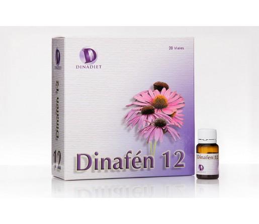 Dinafén 12 Echinacea, Propóleo, Calostro, Reishi, Shiitake, Maitake... 20 Viales DINADIET MAHEN