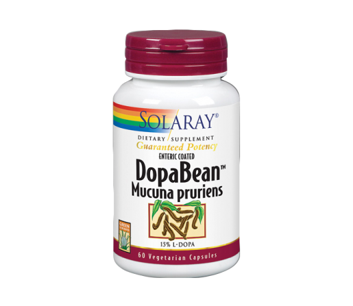 DopaBean Mucuna pruriens 60 cápsulas SOLARAY