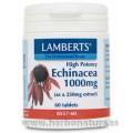 Echinacea Equinácea Alta Potencia 1000mg. 60 comprimidos LAMBERTS