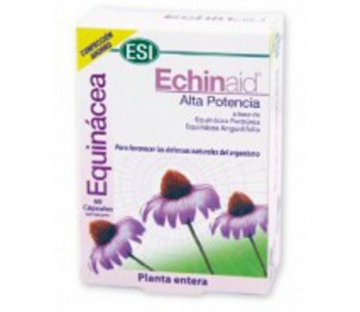 Echinaid Alta Potencia, Equinácea Purpúrea y Angustifolia 60 cápsulas ESI