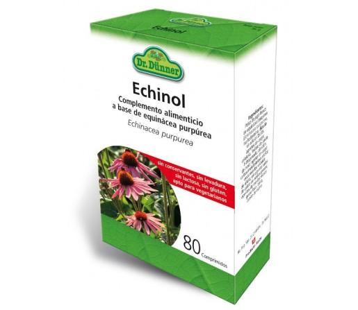 Echinol, Equinácea purpúrea, sin conservante, gluten ni lactosa 80 comprimidos DR. DUNNER