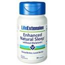 Enhanced Natural Sleep Favorece la conciliación del sueño y reduce el estrés 30 cápsulas LIFEEXTENSION en Herbonatura.es