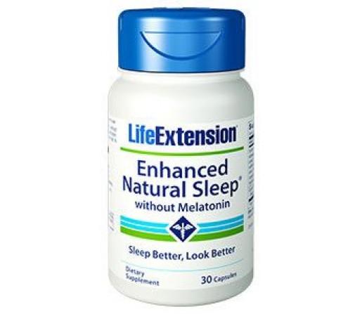 Enhanced Natural Sleep Favorece la conciliación del sueño y reduce el estrés 30 cápsulas LIFEEXTENSION
