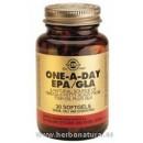 EPA / GLA Omega 3 Una al Día 30 Cápsulas blandas SOLGAR en Herbonatura.es
