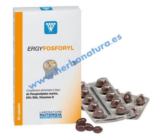 Ergyfosforyl Fosfolípidos Marinos Omega 3 y Cofactores Vitamínicos 60 perlas NUTERGIA
