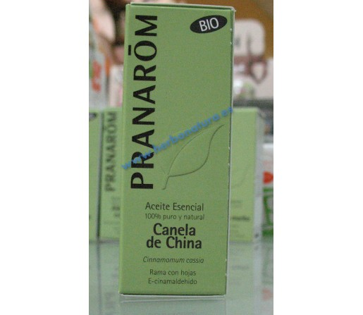 Aceite esencial Canela de China Ecológico (Cinnamomum cassia) 10ml. PRANAROM