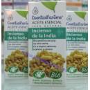 Aceite Esencial Incienso de la India Ecológico (Boswellia serrata) 5ml. ESENTIAL AROMS en Herbonatura.es