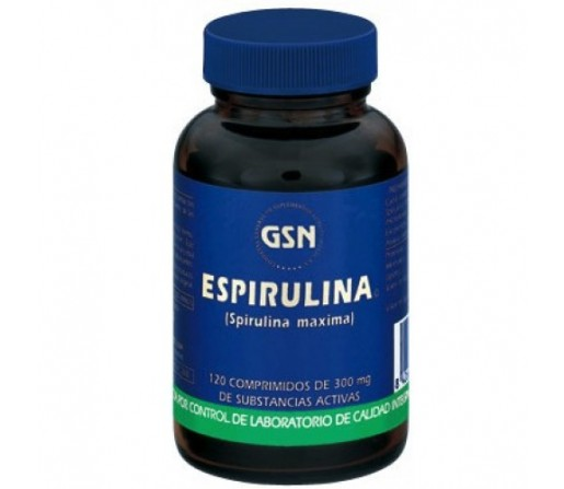Espirulina Spirulina Maxima 120 comprimidos GSN