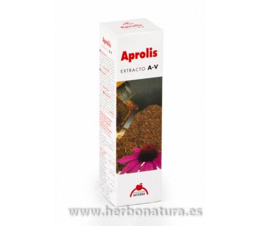 Extracto Aprolis A-V (Anti-Vir) con propóleo, cajeput y echinácea. 30ml. INTERSA