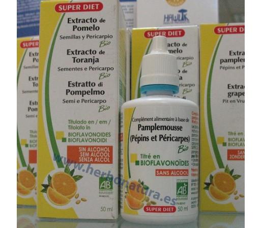 Extracto de semillas de pomelo Biológico 50 ml SUPER DIET
