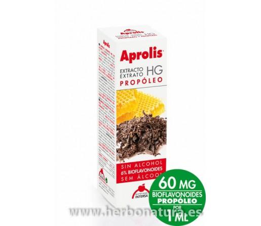Extracto Propóleo HG Sin Alcohol Aprolis 6% bioflavonoides.50ml. INTERSA