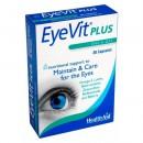 EyeVit Plus, Nutrición para los ojos 30 cápsulas HEALTH AID