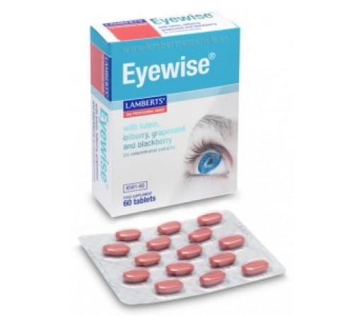 Eyewise Multinutriente para la Vista Luteina, Zeaxantina... 60 comprimidos LAMBERTS