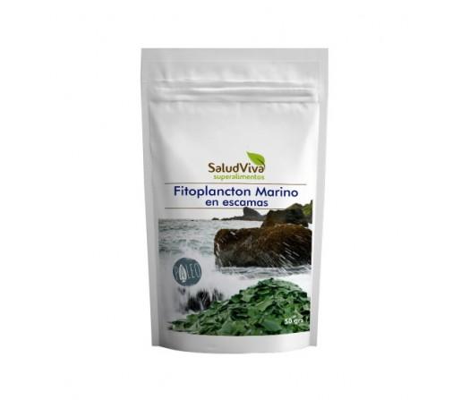 Fitoplancton Marino en escamas Plancton vegano Superalimento 50gr. SALUD VIVA