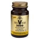 Fórmula VM 2000 Multinutriente con Aminoácidos en una base herbaria 60 comprimidos SOLGAR en Herbonatura.es