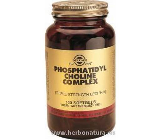 Fosfatidil Colina 420 mg 100 Cápsulas blandas SOLGAR