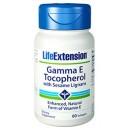 Gamma E Tocopherol con Lignanos de Sesamo, Vitamina E 60 perlas LIFEEXTENSION