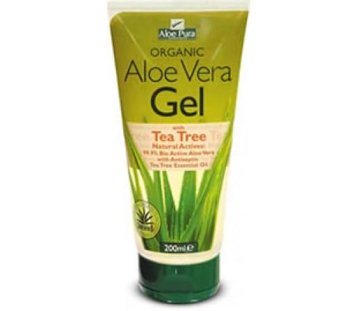 Gel Aloe Vera 99,9% Ecológico con Aceite de Arbol de Té 200ml. EVICRO