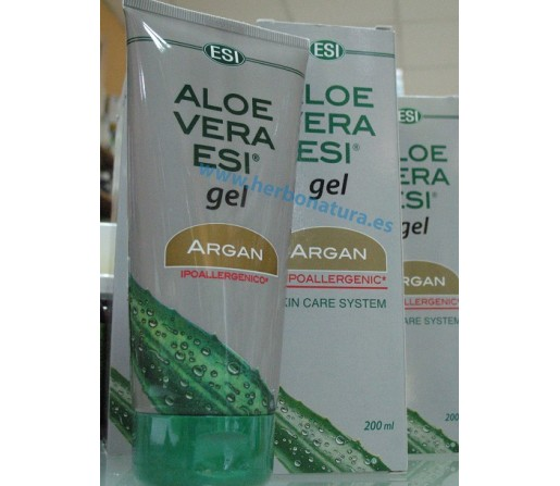 Gel Aloe Vera con Argan 200ml. ESI