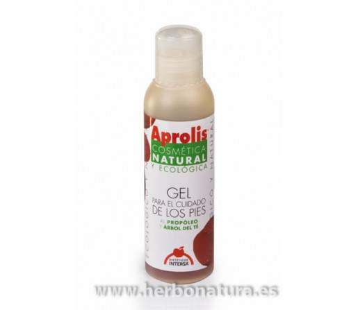 Gel de Pies ecológico, suave y eficaz, especial para el cuidado y limpieza de los pies. 100ml. INTERSA