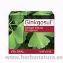 Ginkgosul Ginkgo biloba y Hamamelis 60 cápsulas NATYSAL