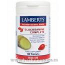 Glucosamine Complete, Glucosamina, Condroitina, MSM, Jengibre... 120 comprimidos LAMBERTS