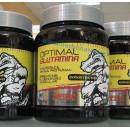 Optimal Glutamina Sabor neutro Sin Aspartamo ni gluten 500gr. MEGA PLUS