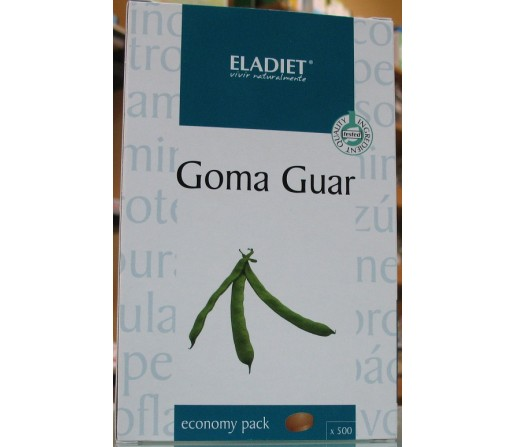 Goma Guar (Saciante) 500 comprimidos de 400mg. ELADIET