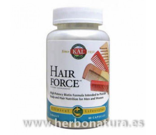 Hair Force caida del cabello 60 cápsulas SOLARAY