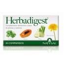 Herbadigest con Bromelina, Papaya, Hinojo, Diente de león... 30 comprimidos NATYSAL