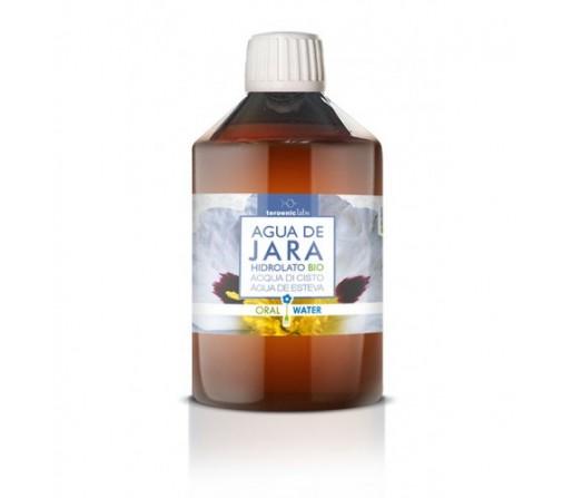 Hidrolato Biológico Jara, Agua floral (Cistus ladaniferus) 250ml. TERPENIC LABS