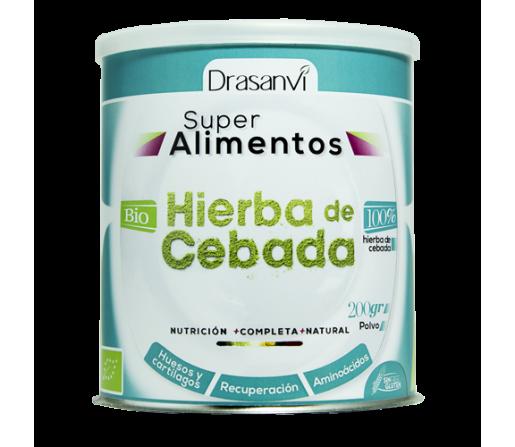 Hierba de Cebada Cruda y Ecológica 200gr. DRASANVI