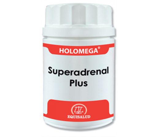 Holomega Superadrinol Plus Ashwagandha, Astrágalo, Rhodiola... 50 cápsulas EQUISALUD
