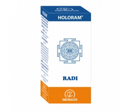 Holoram Radi, Protector anti radiaciones 60 cápsulas EQUISALUD