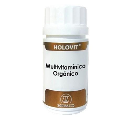 Holovit Multivitamínico Orgánico, Multinutriente, 50 cápsulas EQUISALUD