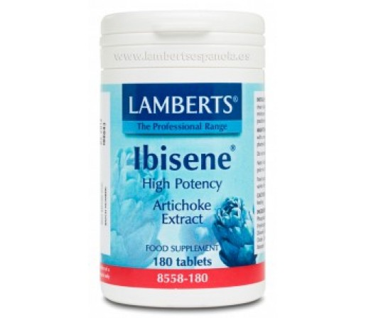 Ibisene Alcachofa Extracto Alta Potencia 180 comprimidos LAMBERTS