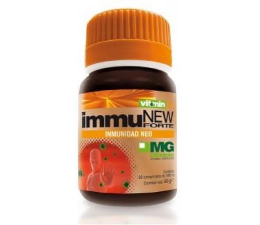 Immunew Forte, Mgdose, Maitake, Shiitake, Pleurotus, Selenio, Lipoico... 90 comprimidos SORIA NATURAL