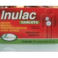 Inulac (Inulina, enzimas, fermentos lácteos y ácido láctico) 30 comprimidos SORIA NATURAL