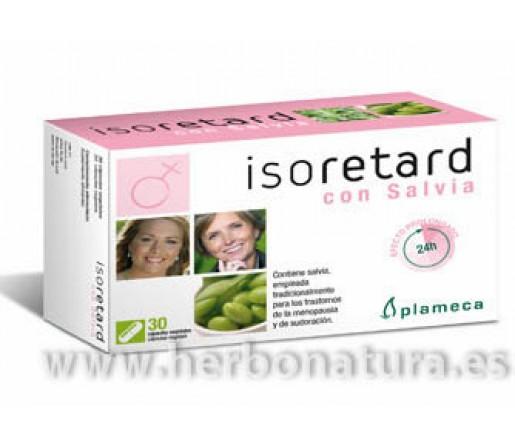 Isoretard con Salvia Isoflavonas de Soja 30 cápsulas PLAMECA