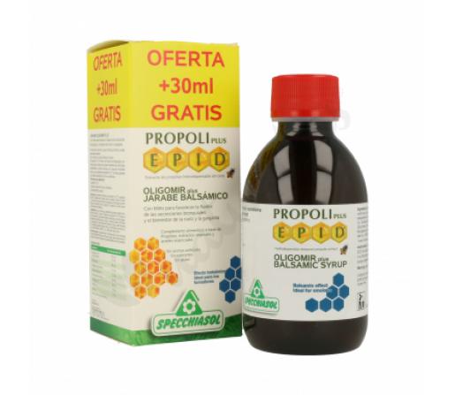 Jarabe Balsámico Oligomir Plus Epid con Mirto y Propoleo 170ml. SPECCHIASOL