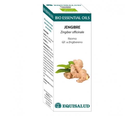 Aceite Esencial Jengibre Biológico (Zingiber officinale) 10ml. EQUISALUD