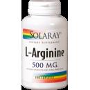 L-Arginina 500 mg 100 Cápsulas SOLARAY en Herbonatura.es